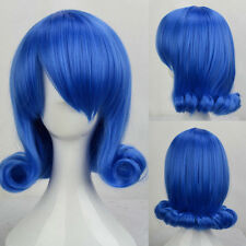 Anime Cos Hair Lady Curly Wavy Full Wig Synthetic Wigs Halloween Fancy Dress Hot