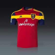 Adidas RSL Real Salt Lake REPLICA CLIMACOOL TOP MENS XL JERSEY LIFEVANTAGE RED