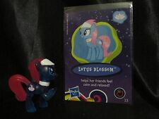 My Little Pony Lotus Blossom & Card Blind Bag Mini Wave 8 AY 23 Ponyville G4 FiM