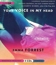 Your Voice in My Head ~ A Memoir by Emma Forrest ~ 4 CD's Unabridged Audio Book