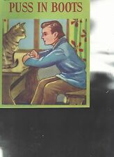 Puss in Boots Children's Picture Book Samuel Lowe Company 1944