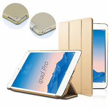Gold Leather Case For APPLE iPad Pro 12.9 Cover w/ Sleep Mode