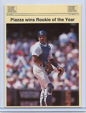 MIKE PIAZZA 1993 ROOKIE OF THE YEAR LIMITED EDITION 1 OF 5000 PROMO CARD! HOF!!