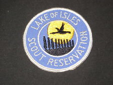 Lake of Isles Scout Reservation 10 Trees Pocket Patch  cpp