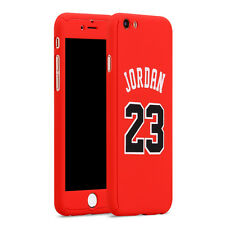 Apple iPhone 7 Plus Full Protection Case Michael Jordan Cover + Screen Protector