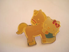 PINS RARE HELLO KITTY PONEY CHEVAL TV DESSIN ANIME