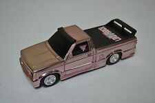 USED 1993 LANARD 1:27  LOW RIDER PINK CHROME PULLBACK TRUCK (MISSING PIECES)