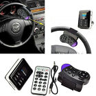 Steering Wheel Car Kit FM Transmitter Bluetooth MP3 Player with Remote Control