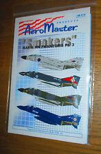 Fuera de imprenta Aeromaster 1:48 calcomanías fumadores parte 3-RAF & FAA fantasmas