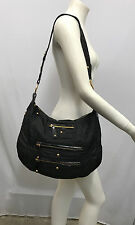 TOD'S NYLON PATENT LEATHER PURSE LARGE HOBO STYLE CAN BE EXPANDED BY A ZIPPER