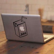 "Juice Box Apple for Macbook Air/Pro 11 12 13 15 17"" Vinyl Decal Sticker Laptop"