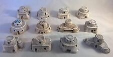 1/300 scale 6mm sci-fi Desert dwellings x12 Daemonscape suitable for Star wars