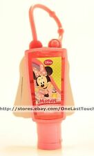 MINNIE MOUSE 1 oz Antiseptic Hand COTTON CANDY Cleansing Gel SANITIZER+CLIP 1/2