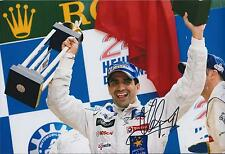 Marc GENE 12x8 SIGNED Photo Podium RACE Winner Formula 1 Autograph AFTAL COA