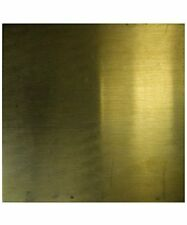 Brass Square Sheet 1 1/16th Inch 24ga Pkg Of 6