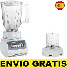 BATIDORA DE VASO + MOLINILLO 2 EN 1 LICUADORA ELECTRICA Y PICADOR 400W 1,5 LTS