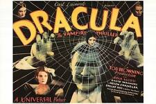 DRACULA  (1931) LIMITED EDITION  MOVIE POSTER ROLLED