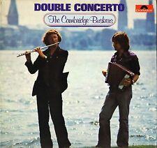 THE CAMBRIDGE BUSKERS double concerto 2371 984 A1/B1 1st press uk LP PS EX/EX