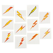 36 Assorted Fun Lightning Bolt Kids Temporary Tattoos Party Favors