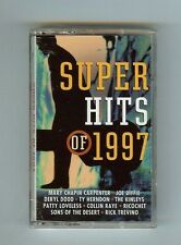 SUPER HITS OF 1997 - VARIOUS ARTISTS - CASSETTE - NEW