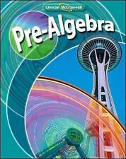 Pre-Algebra by Price, Malloy and Willard (2007, Hardcover, Student Edition)