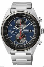 NEW SEIKO SNDF89P1,Men's CHRONOGRAPH,STAINLESS STEEL CASE,100M WR,SNDF89