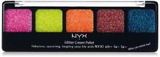 NYX GCP02 EDEN GLITTER CREAM PALETTE  EYESHADOW 0.35 OZ Brand New