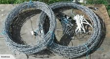 50 FEET BARB WIRE NEW 18 GAUGE 4 POINT ARTS & CRAFTS