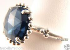 MIDNIGHT STAR Genuine PANDORA Ring Silver/Dark~Navy BLUE CRYSTAL STONE 6/52 NEW