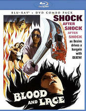 Blood and Lace (Blu-ray/DVD, 2015, 2-Disc Set) Scream Factory, Cult Classic