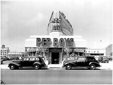 1940 Pep Boys Store Front  8 x 10 Photograph