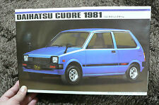 DAIHATSU CUORE 1981  1/20 MODEL KIT IMAI JAPAN