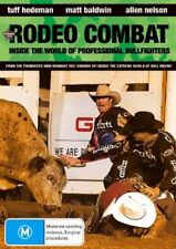 Rodeo Combat (DVD) NEW/SEALED [Region 4] Professional Bullfighters Cowboys