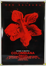 COLOMBIANA DS ROLLED ADV ORIG 1SH MOVIE POSTER ZOE SALDANA LUC BESSON (2011)