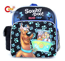 "Scooby Doo School Backpack 10"" Toddler Small Mini Bag - Road Trip"