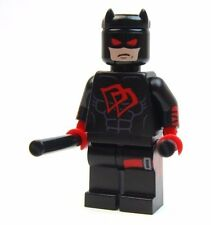 Lego Custom - - BLACK DAREDEVIL - - - - marvel dare devil