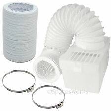 Universal Tumble Dryer 1M Hose Condenser Box with Extra Long Pipe & Clips