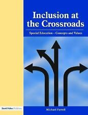 Inclusion at the Crossroads: Special Education--Concepts and Values-ExLibrary