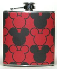 MICKEY MOUSE DISNEY DISNEYLAND DISNEY BAR PARTY HIP FLASK FLASKS BIRTHDAY GIFT!