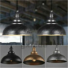 Vintage Ceiling Light Retro Pendant Lamp Industrial Loft Iron Chandelier Fixture