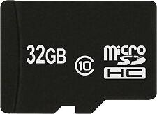 32 GB Micro SD HC Speicherkarte für Trekstor Surftab Wintron 10.1 Volkstablet