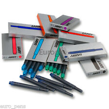 Lamy Fountain Pen Ink Cartridges T10 Refills - RAINBOW MIX - 45 Ink Cartridges