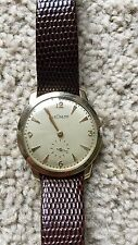 Vintage LeCoultre Mechanical Watch signed crown swiss movement by JLC