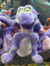 "disney parks epcot mascot 9"" figment plush toy new with tags"