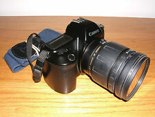 Vintage Canon EOS Rebel Camera w/Tamron AF Aspherical 28-200MM Lens & Strap