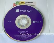 Microsoft Windows 10 Professional 64 Bit Full Version [Sealed]