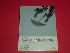 Saving Mr. Banks Blu-Ray Zavvi Limited to 2,000 Copies Steelbook Edition