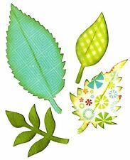 Sizzix Bigz Spring Leaves die #661111 Retail $19.99 Cuts fabric! by Eileen Hull