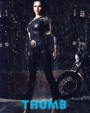 Cheryl Cole Fernandez - 10x8 inch Photograph #019 in Tight PVC Rubber Catsuit