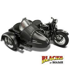 Maisto 1:18 Scale 1948 Harley Davidson FL Panhead Motorcycle and Side Car Model